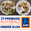 Easiest Aldi Meal Plan: 14 Premade meals for under $150 delivered