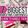 Rock Your Budget! 7 Biggest Budgeting Challenges & How to Handle Them