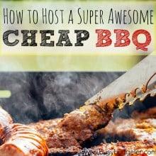 CHEAP Summer BBQ's
