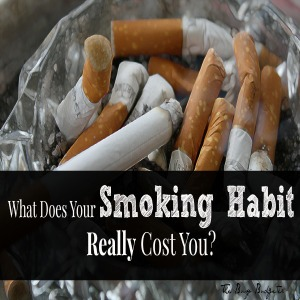 What does your smoking habit really cost you?