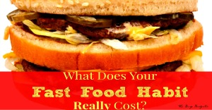 Want to know the exact yearly cost of your fast food habit?