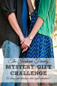 The Ingham family mystery gift challenge.