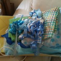 Saving Gift Bags and Tissue Paper: a quick way to go green and save money