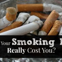 What Does Your Bad Habit Really Cost You? This is The True Price of Smoking and Fast Food.
