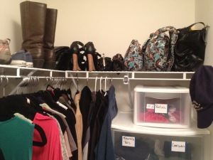 cheap closet organization