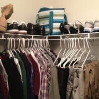 Closet Organization: An alternative to dressers