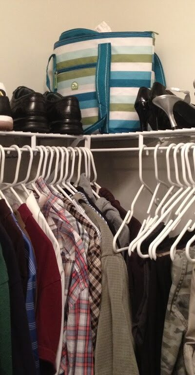 cheap closet organization