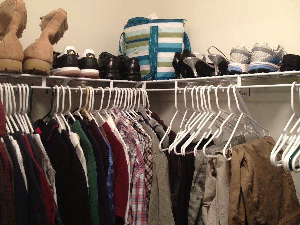 Closet Organization: An alternative to dressers