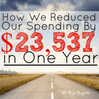 How we reduced our spending by $23,537.00 in a year (Money Saving Tips)!