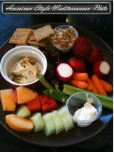 This colorful protein packed lunch is a great way to stretch your dollar and give variety to what you eat! www.busybudgeter.com