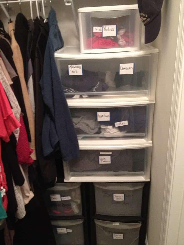 Cheap Closet Organization An Alternative to Dressers Busy Budgeter. Dresser Alternatives For Small Spaces