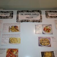 Freezer Meal Organization and Planning