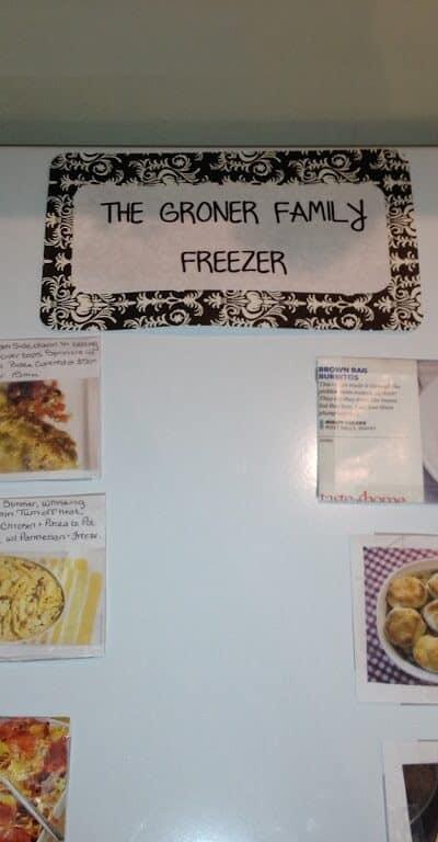 chest freezer organizer