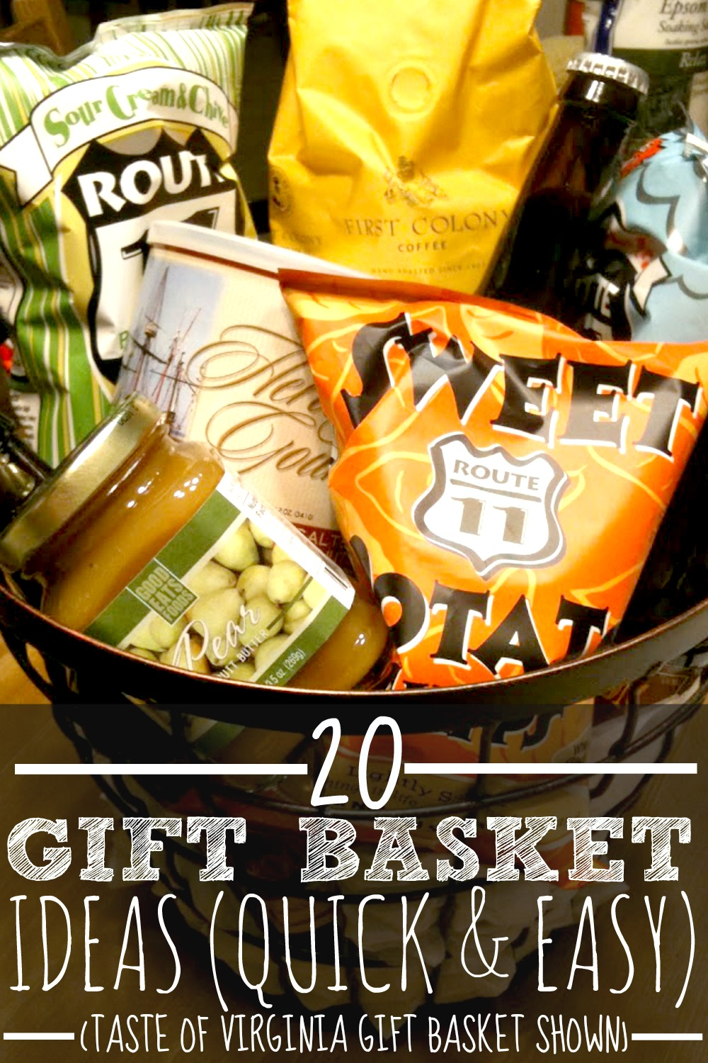 20 Gift basket ideas for every occasion. Quick and easy. Such fantastic and simple gift basket ideas! I just put together a $10 gift basket from this list! Thank you!