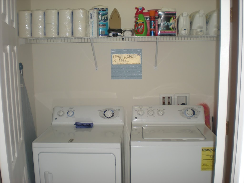 Laundry Room Organization: Making your least favorite chore easier