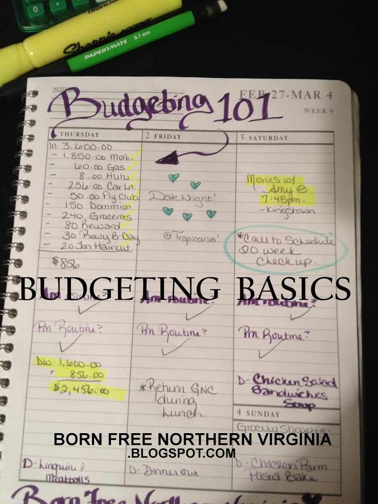 How to Create a Calendar Budget: Easy, Step by Step Directions. Complete One Step a Week!