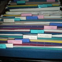 Financial File Cabinet: Organized and Easy to Keep Up.
