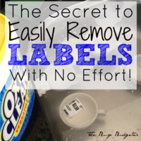 How to Remove Labels with No Effort!