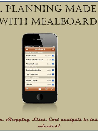 meal plan app
