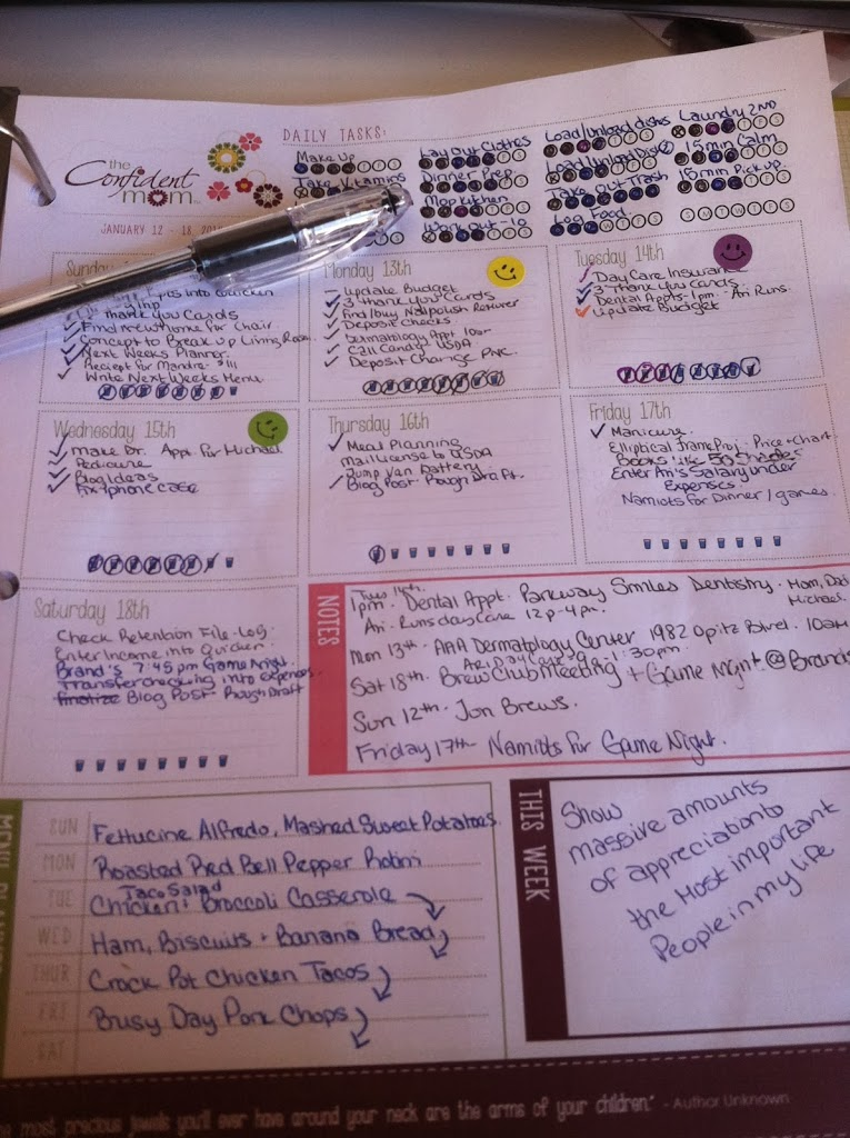 I love getting organized and this was a great way to do it, and it was free! www.busybudgeter.com