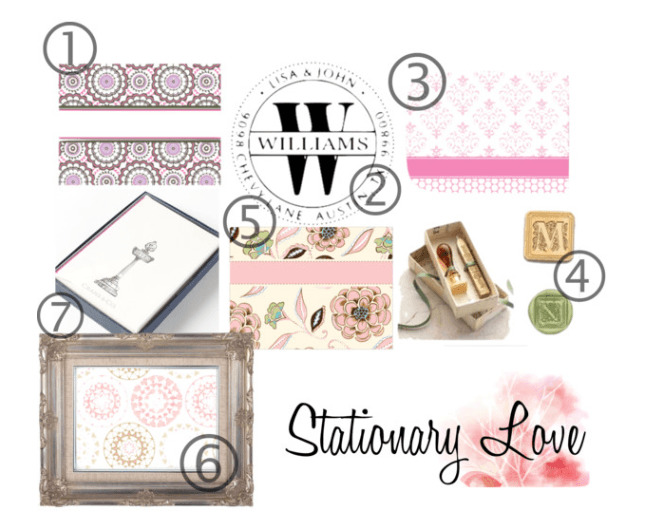 letter writing stationary sets