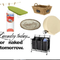A Few of My Favorite Things: Laundry Organization