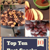 Top 10 Favorite Snacks: Ready in less than 5 minutes!