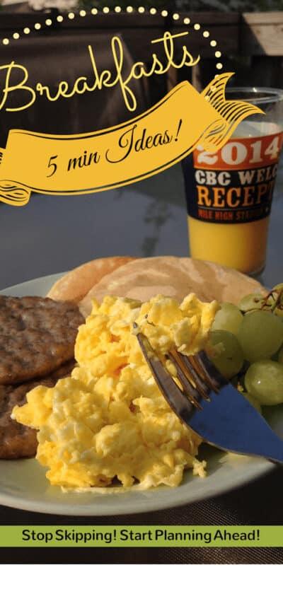 easy fast breakfast ideas