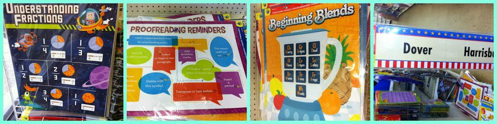 Where to buy teaching supplies the dollar tree of course for Best place to buy posters in store