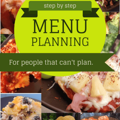 Menu Planning: Step by Step Part 3 (Using Mealboard)