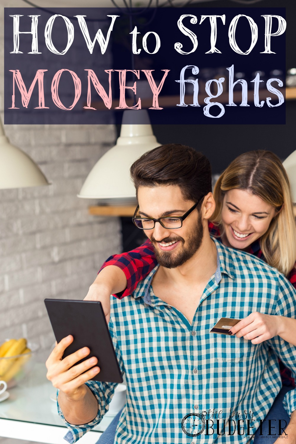 How To Stop Money Fights: Totally works! My husband and I used to fight all the time about who was the one overspending and doing stupid stuff with our money. Once we followed these steps we both had to admit we could do better. Now we talk about our finances together and we hardly ever fight about it anymore!