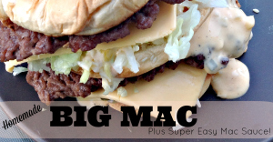 homemade big mac recipe