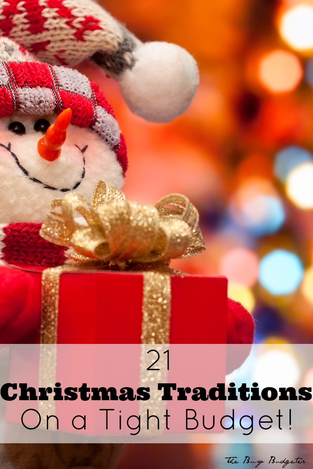 21 christmas traditions on a tight budget