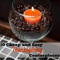 10 Cheap and Easy Thanksgiving Centerpieces