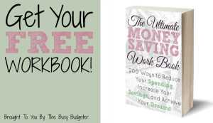 The Ultimate Money Saving Workbook free!
