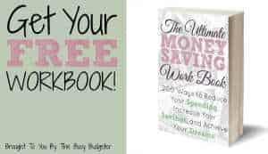 The Ultimate Money Saving Workbook free!