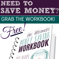 The Ultimate Money Saving Workbook: 200 Ways to Reduce Your Spending, Increase Your Savings, and Achieve Your Dreams!