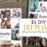 DIY Life Planner for Less than $5!