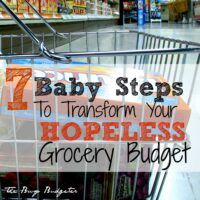 7 Baby Steps to Transform Your Hopeless Grocery Budget into a Success!