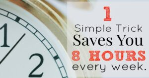 Automate your errands to save time and money!