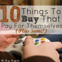 10 Fun Things to Buy That Pay for Themselves (Plus Some!)