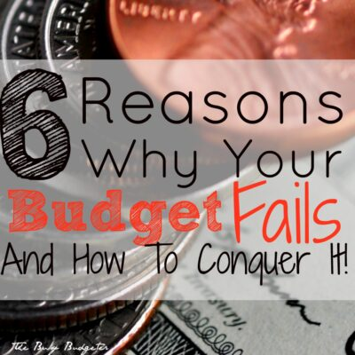 Common Budget Plan Problems and How to Conquer them