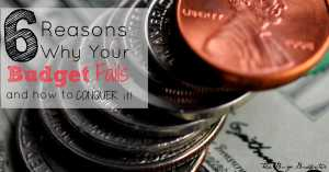 6 reasons why your budget fails and how to conquer it fb