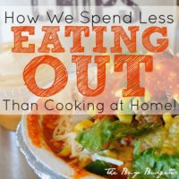 Cheap Restaurants: How We Spend Less Eating Out Than Cooking at Home!