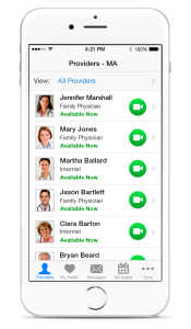 Choose your own doctor with Amwell.