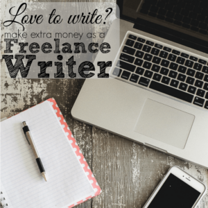 Freelance writing is a great side hustle for people that love to write