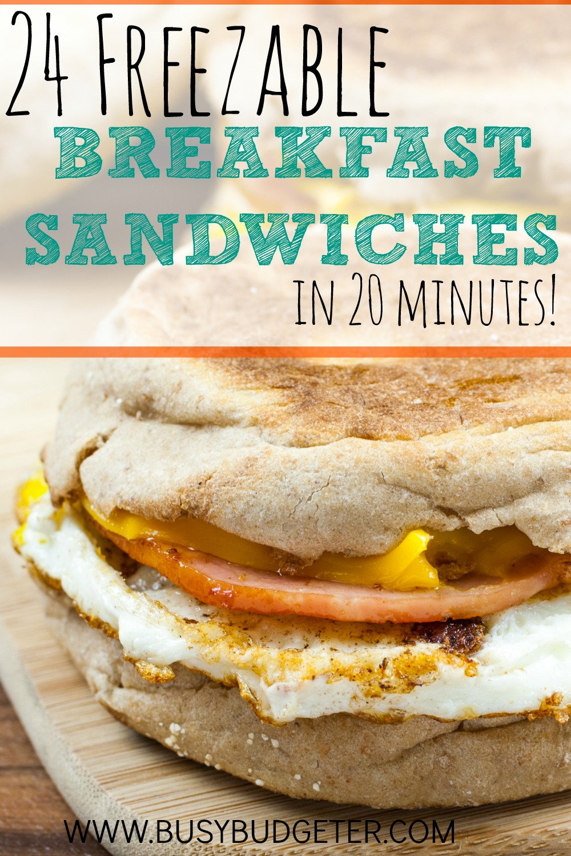 Freezer Breakfast Sandwiches Is It