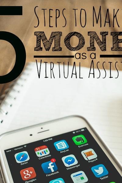 5 Steps to make money as a virtual assistant