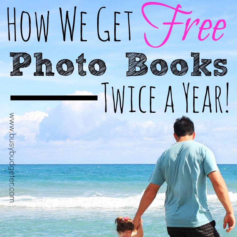 how we get free photo books twice a year