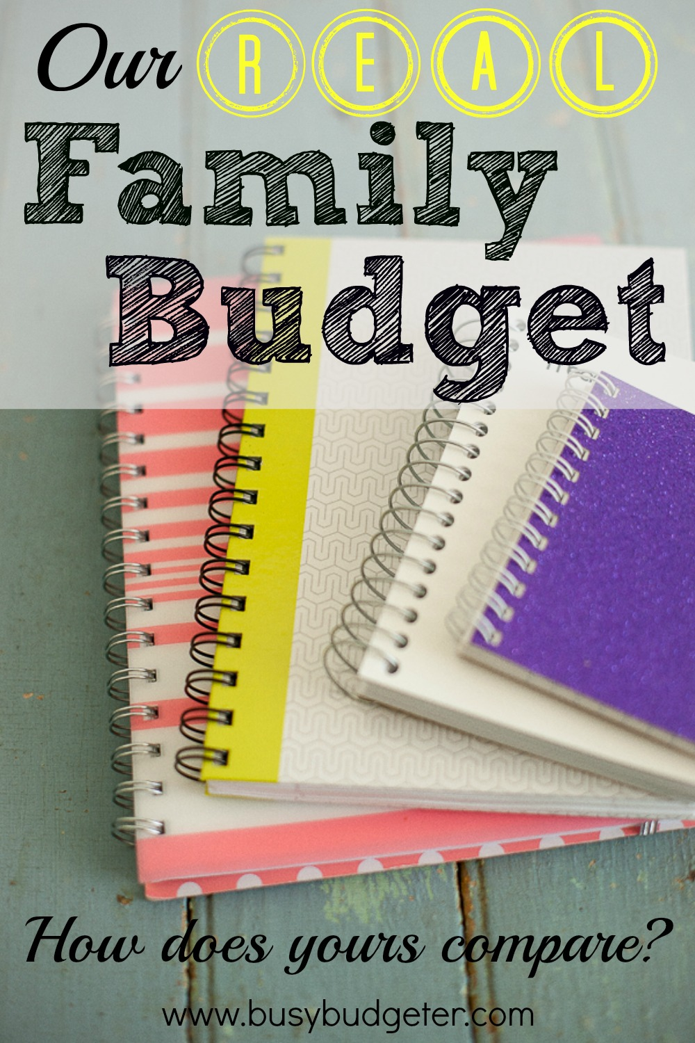 sample of family budget